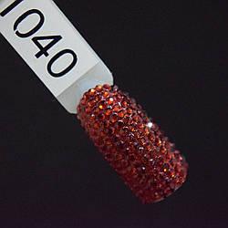 Стразы темно-красные, SS3, 100 шт в упаковке