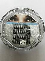 Магнитные накладные ресницы на трех магнитах Lilly Beauty К- 17