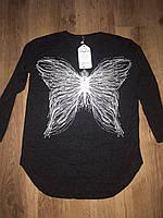 Женские кофты с бабочкой Размер батал