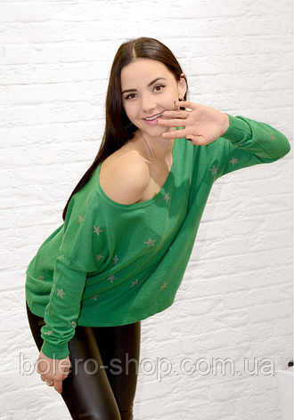 Свитер женский зеленый Италия Joie Clair, фото 2