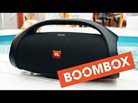 Колонка портативная JBL Boombox, беспроводная Bluetooth акустика, ЖБЛ бумбокс, Реплика супер качество