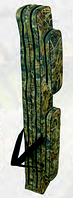 Чехол для удилищ без выступа под катушку 130см с 2 карманами