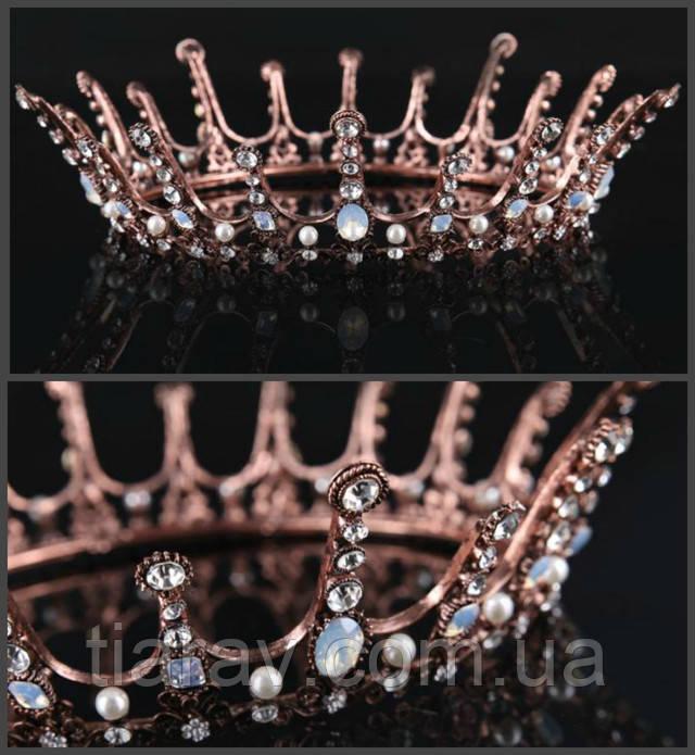 Купить свадебную диадему в Украине, купить корону и серьги, купить тиару  вечернюю, купить детские украшения для волос, купить волосы на заколках в  Украине и ... e53632784fb