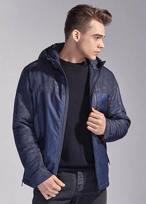 Мужская куртка Riccardo L-1 синий-джинс