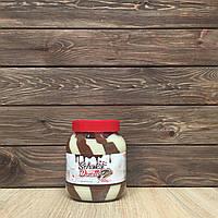 Молочно-шоколадный крем с лесными орехами Schoko Duett, 750 грамм