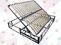 Каркас кровати с подъемным механизмом(с фиксатором) и основанием 1900х1400 мм боковое, 3.5