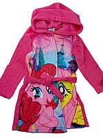 Розовый халат на девочку