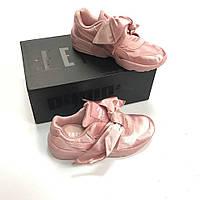 f1284576421a Кроссовки Puma Rihanna x Puma Fenty Bow New Pink. Живое фото. Топ качество!