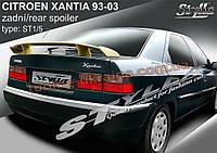 Спойлер Stylla для Citroen Xantia 1998-2001 седан