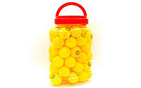 Набор мячей для настольного тенниса 60 штук в PP банке CHAMPION