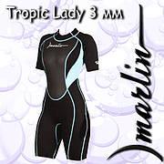Гидрокостюм Marlin TROPIC  SHORTY LADY 3mm