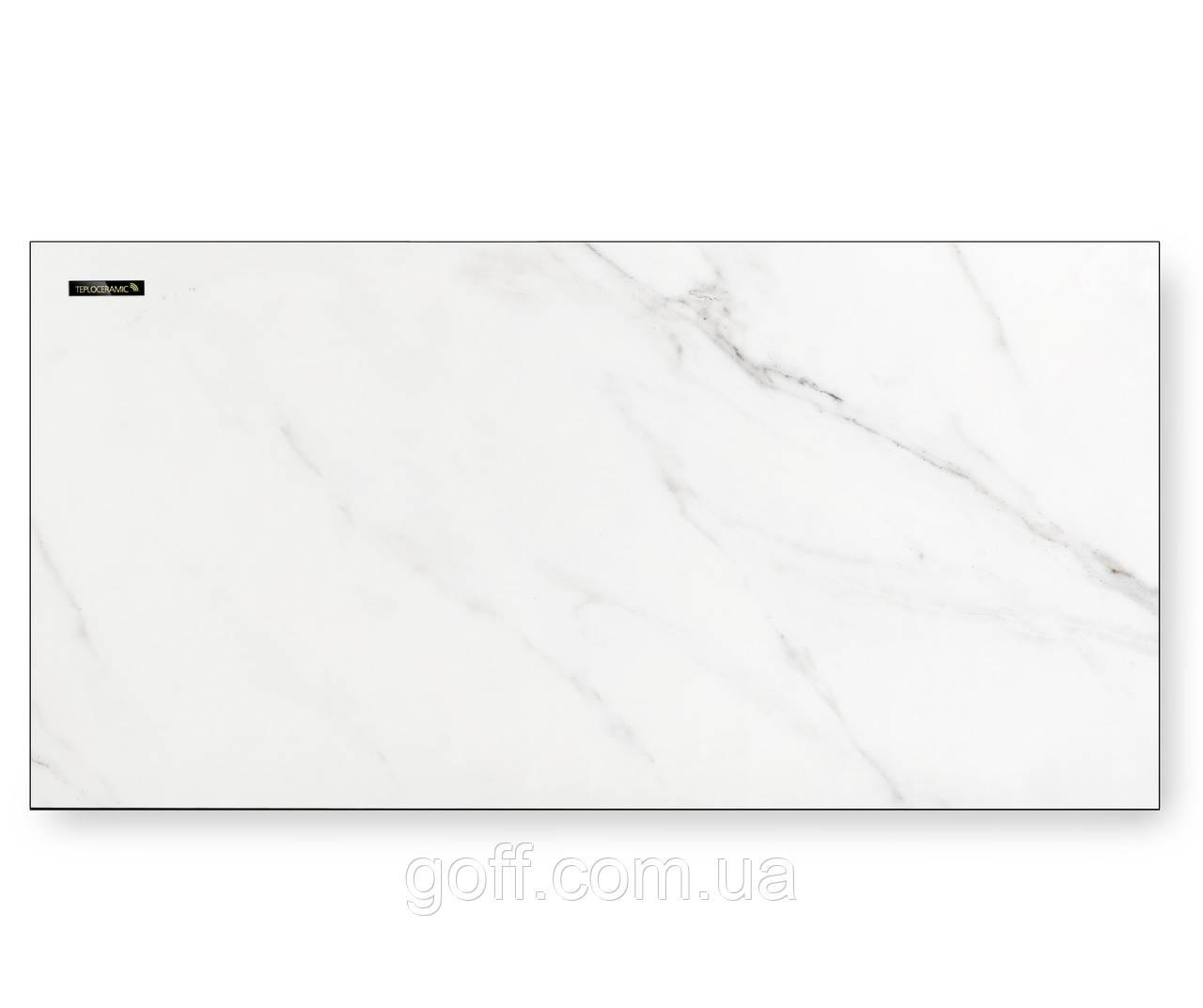 Керамический обогреватель Teploceramic TCM 450 белый мрамор 49713