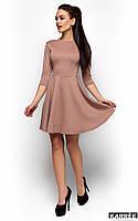 Платье из приятного теплого трикотажа Дания