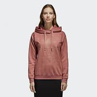 Женская худи с капюшоном Adidas Trefoil Logo CD6931 - 2018