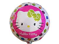Фольгированный шар Hello Kitty, 45 см