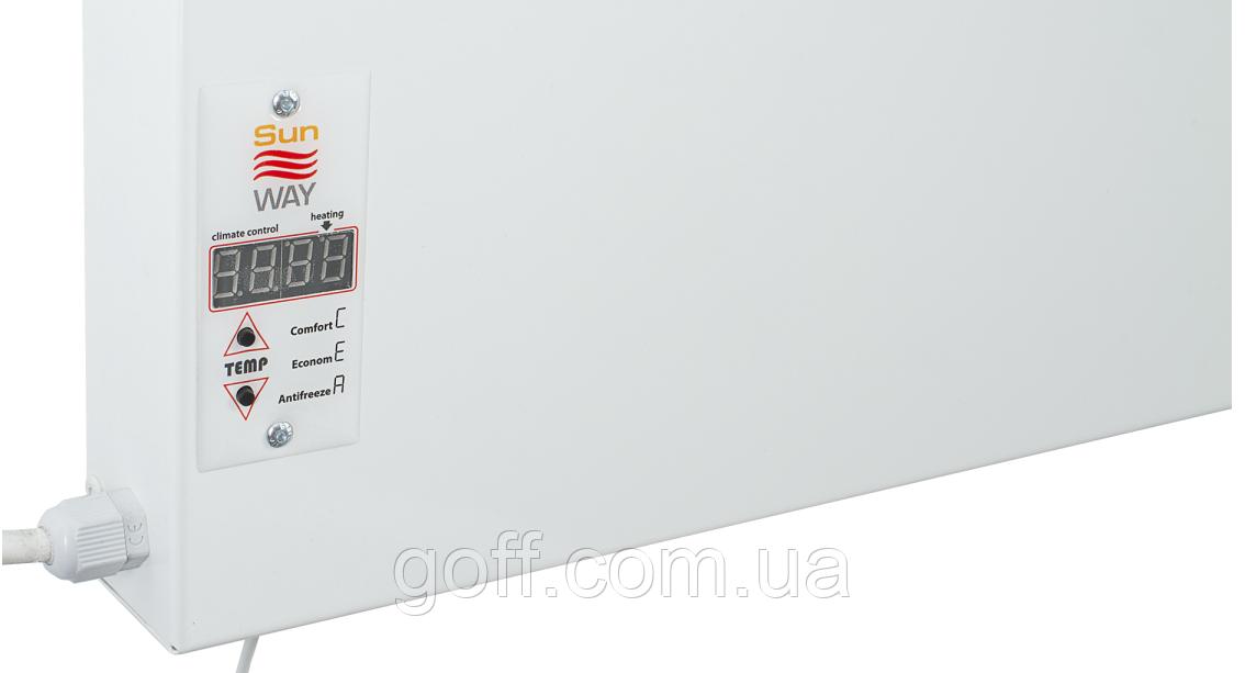 Инфракрасная керамическая панель Sun Way SWRE–700 с терморегулятором