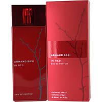 Парфюмерная вода для женщин Armand Basi In Red Eau de Parfum (Ин Ред О Де Парфюм) 100 ml