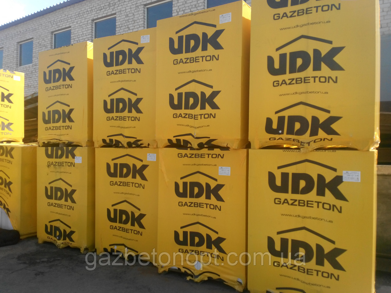 Газобетон, Газоблок, Газобетонные стеновые блоки ЮДК (UDK) 600*400*200 D400