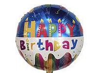 Фольгированный шар Happy Birthday, 45 см