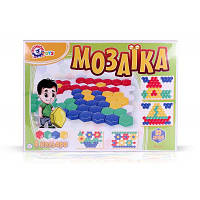 """Игрушка  """"Мозаика для малыша 1"""" Технок Украина 80дет. 45×34×4 см"""