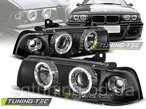 Фары BMW E36 12.90-08.99 ENGEL EYES BLACK