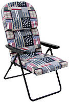Шезлонг кресло Фридрих на ткани