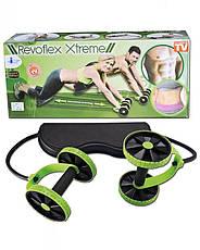 Универсальный тренажер для всего тела Revoflex xtreme, тренажер с 6 уровнями тренировки для пресса/рук/ягодиц , фото 3