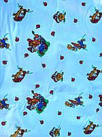Ткань постельная Фланель 2.2 м - 100% хлопок - №4