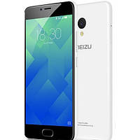 Смартфон Meizu M5 3/32Gb White, 2sim, 3070mAh, экран 5.2''IPS, 13/8Мп, GPS, 4G, 8 ядер, Android 7.0, фото 1