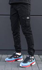 Мужские черные штаны карго beZet Zipp Black '18