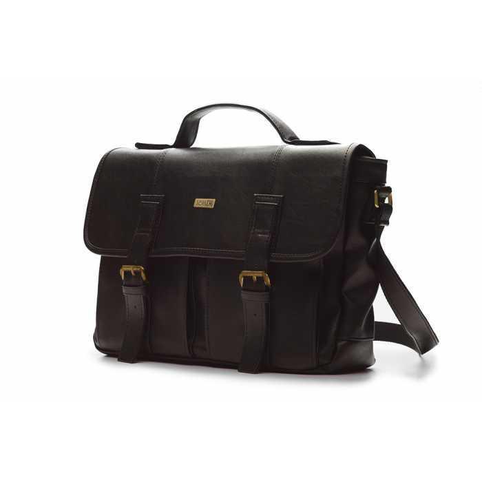 Городская сумка темно-коричневая S14