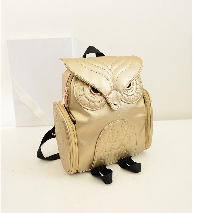 Женский рюкзак OWL бежевый