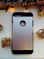 Чехол Spigen Slim Armor iPhone 7 Plus (HQ-копия), Black