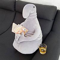 Мягкая игрушка Weber Toys Ждун 60см серый (405-1)