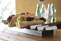 Подставка экспозиционная для бутербродов 475x105x(H)60