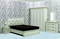 Спальня Мира с 4-х дверным шкафом вариант №2 (ТМ Скай)