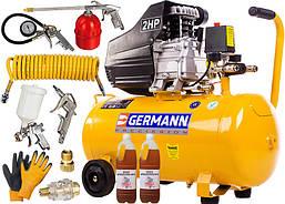 Масляный компрессор GERMANN 50л 8бар (набор)