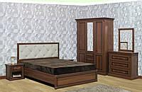 Спальня Мира с 3-х дверным шкафом (шкаф с ящиками) (ТМ Скай)