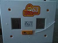 Инкубатор Теплуша на 63 яйца автомат-ТЭНОВЫЙ с выходом под аккумулятор 220\12