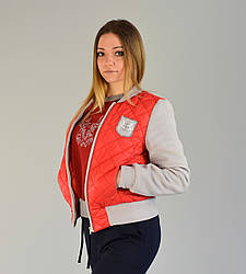Куртка бомбер RED