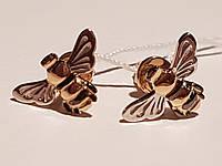 Золотые серьги-пуссеты. Артикул 110385, фото 1