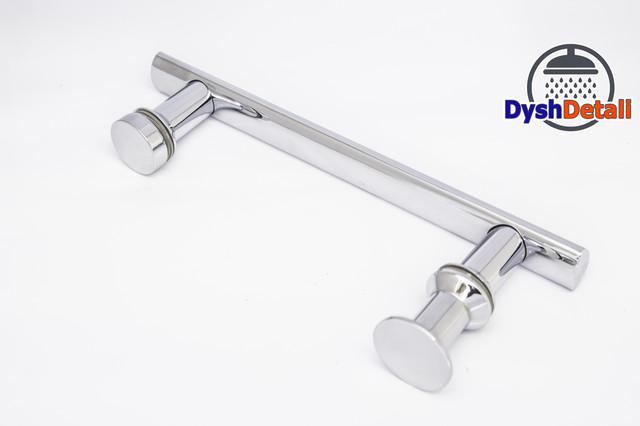 Ручка для дверей душевой кабины на два отверстия ( H-635 ) Метал