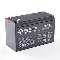 B.B. Battery BP 7.2-12/T2, Черный