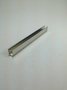 ODF-04-01-02-L2500 (полированный) Профиль из нержавейки 11*15 для душевых кабин под стекло 8 мм