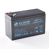 B.B. Battery HR 9-12FR, Черный, фото 1