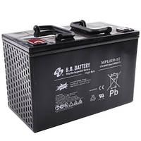B.B. Battery MPL 110-12/B6, Черный