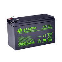 B.B. Battery BС 7-12, Черный