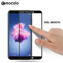 Защитное стекло Mocolo Full сover для Huawei P Smart черный