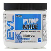 EVLution Nutrition, PumpMode, Non-Stimulant Pump Acclerator, Blue Raz, 5.9 oz (168 g)