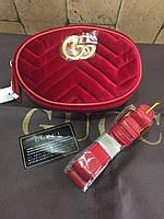 Gucci женская замша сумка